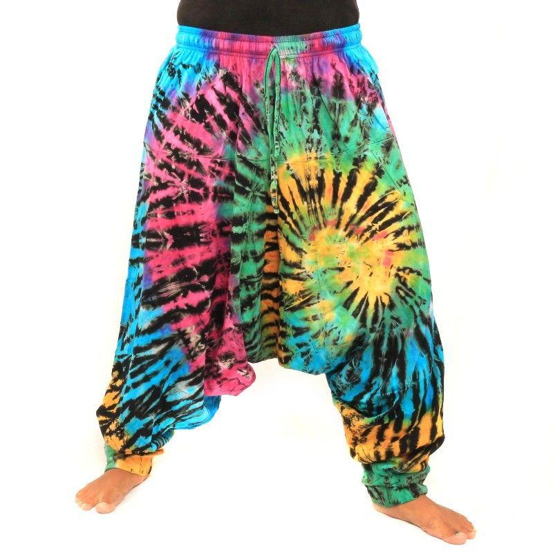 Hippie Batik Aladdin Pants