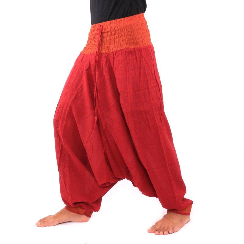 Aladdin Pants - dark red