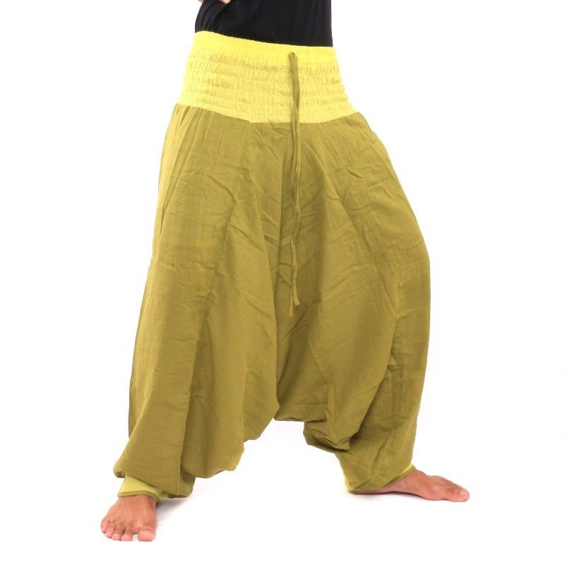 Aladdin Pants - light olive green