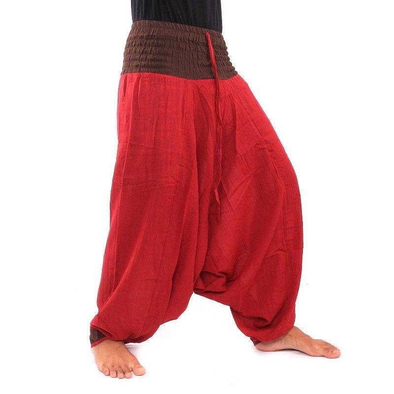 Baggy Pants - dark red