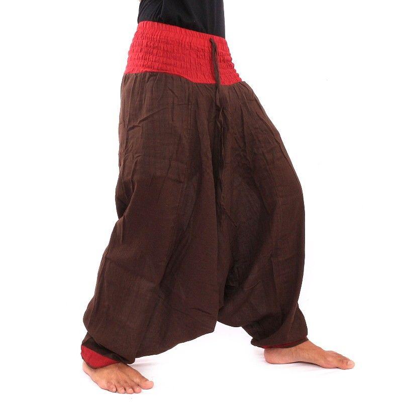 Baggy Pants - dark brown