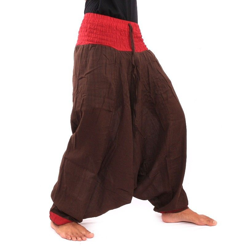 Pantalones Aladdin - marrón oscuro