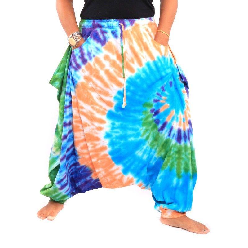 Hippie Batik Pantalón de Aladdin