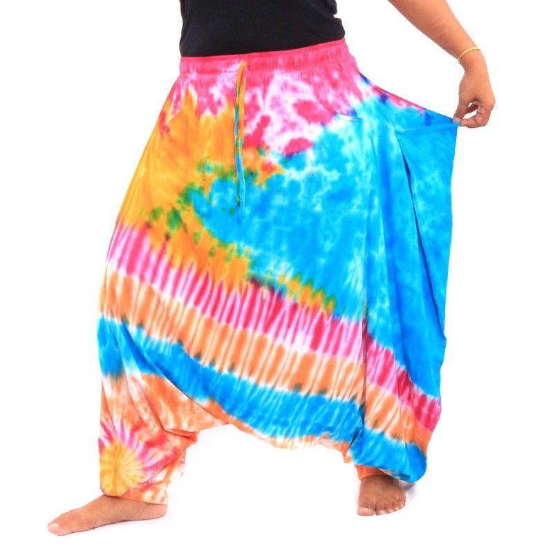 Hippie Harem pants tie-dye