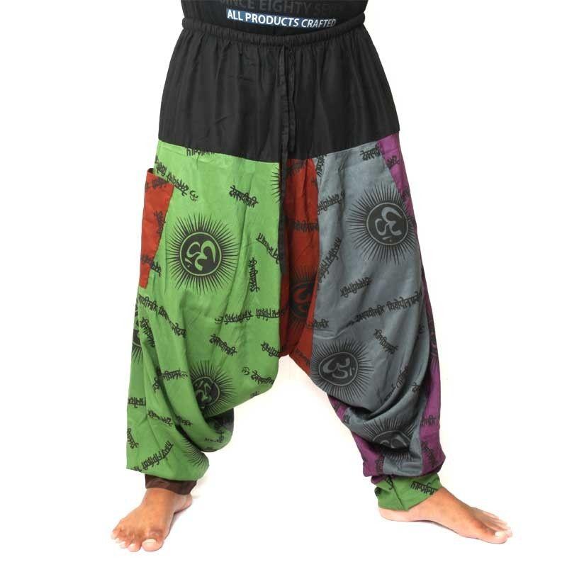 Harén, estilo Tibet rayón (viscosa)