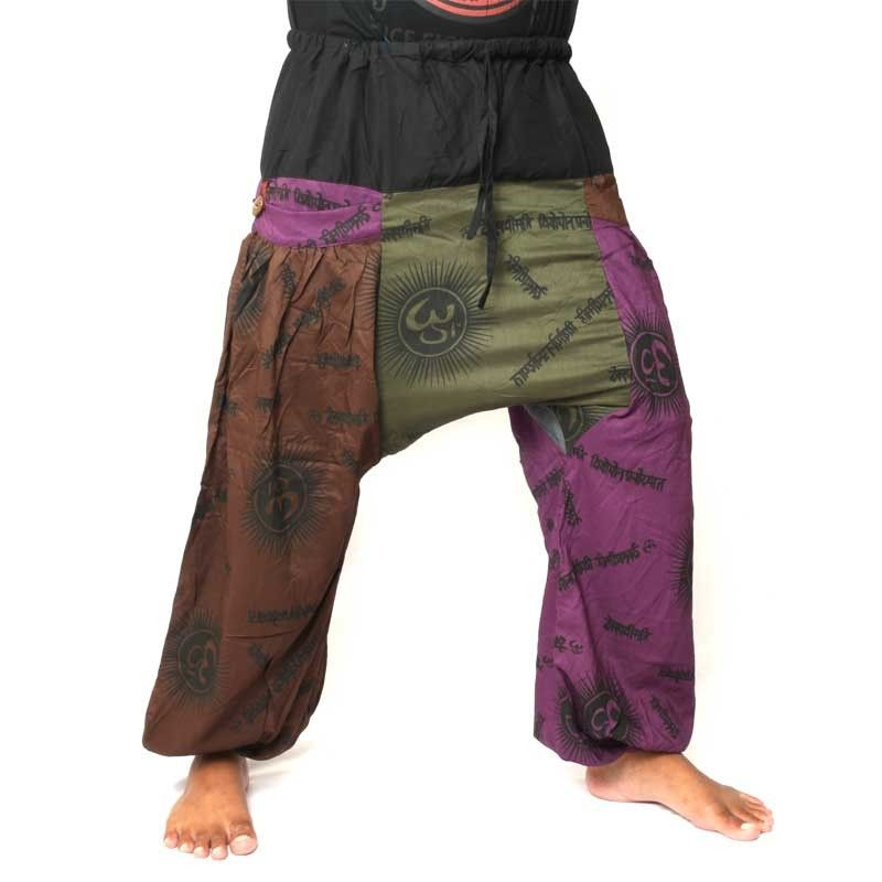 Harempants, rayon (viscose) tibet style