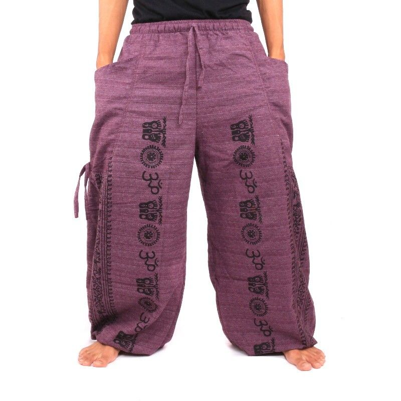 Harem Om mezcla de algodón violeta