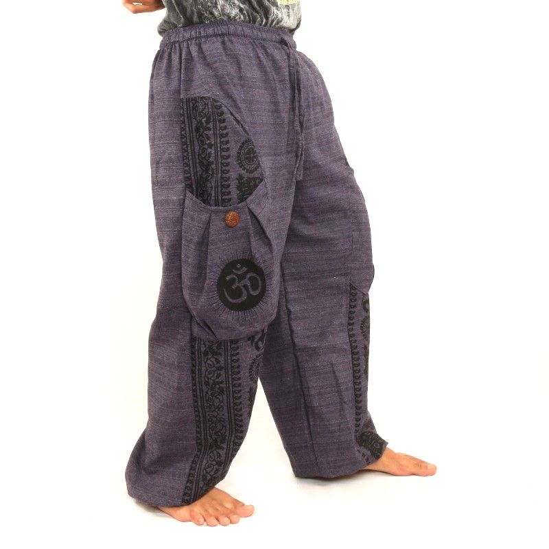Thai Hippie pants for tying Tibet pattern