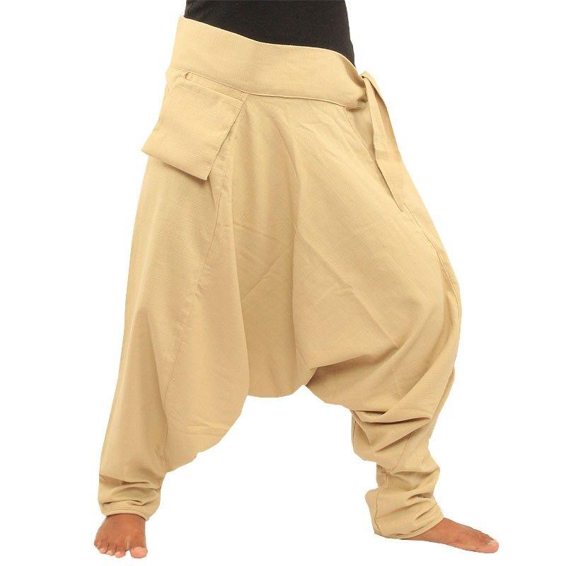 Pantalones Aladdin - con pequeño bolsillo lateral para unir la crema