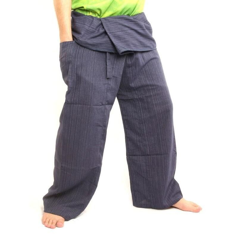 Wickelhose Cottonmix extra lang - blau