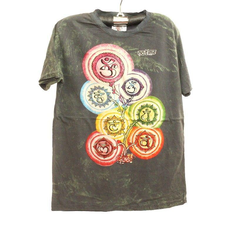 """No hay tiempo"" t-shirt talla M Stonewashed"