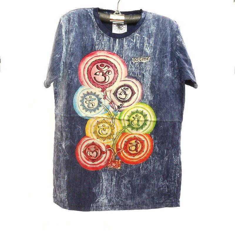 """""""No hay tiempo"""" lavado a la piedra camiseta talla M"""