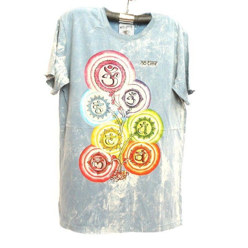 """No hay tiempo"" t-shirt talla L Stonewashed"