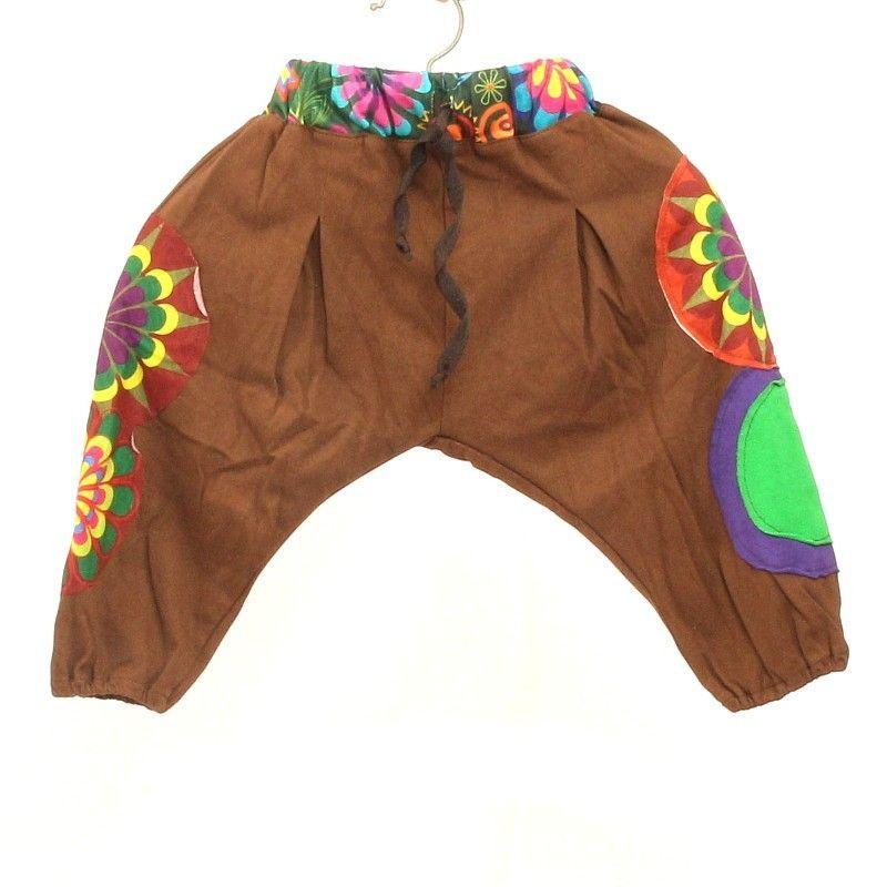 pantalones harén para niños del tamaño de S