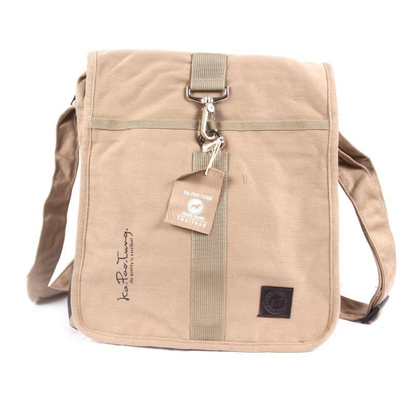 Ka Pao Tung gran bolsa de hombro - caqui