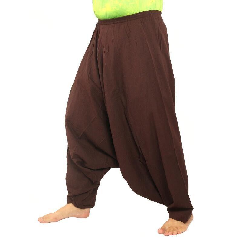 Aladdin bloomers Sii Naam thaan, marrón