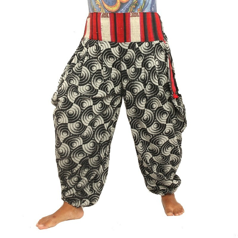 harem pants template - printed harempants pants am h3