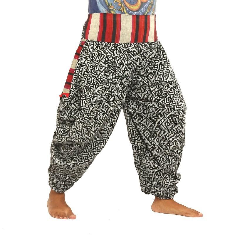 harem pants template - printed harempants pants am h6