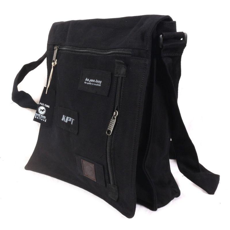 Ka Pao Tung gran bolsa de hombro - negro