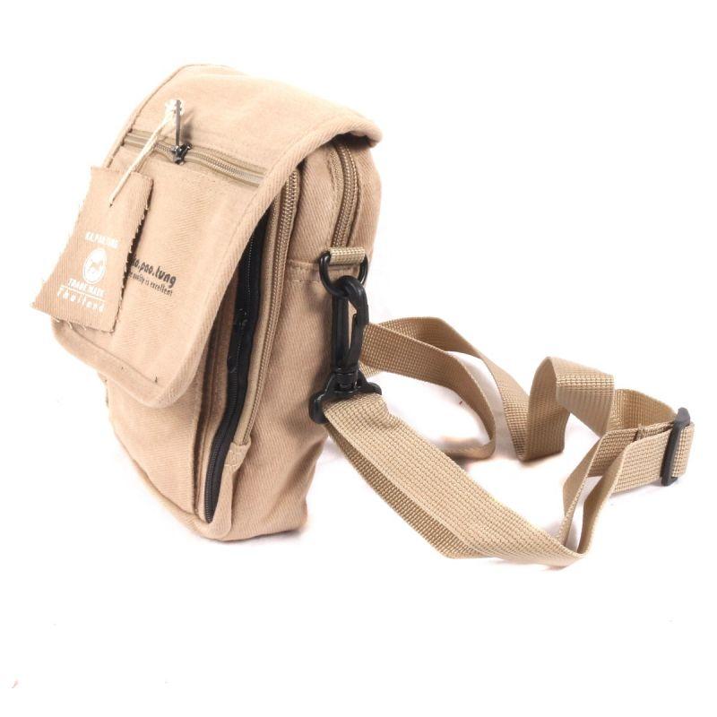 Small allround beige shoulder bag-
