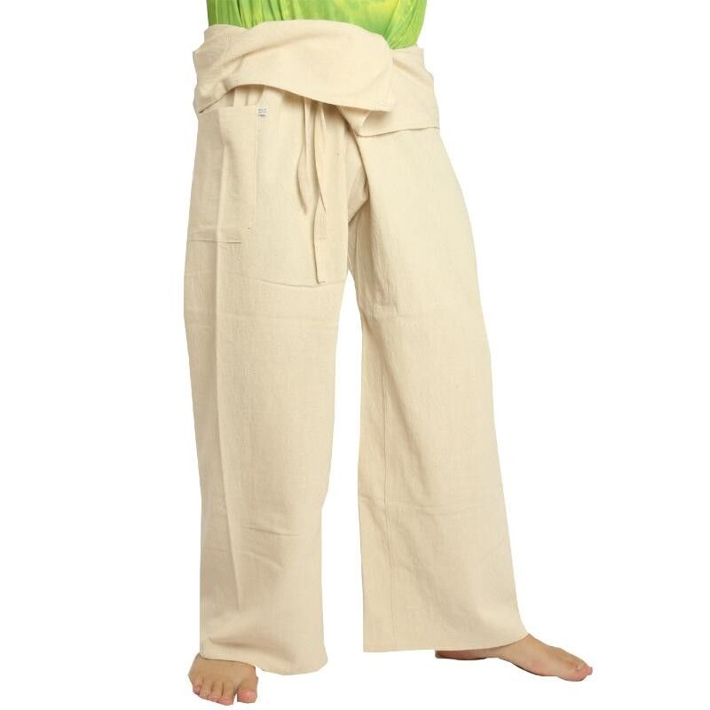 Thai Fisherman pants - uncolored - extra long