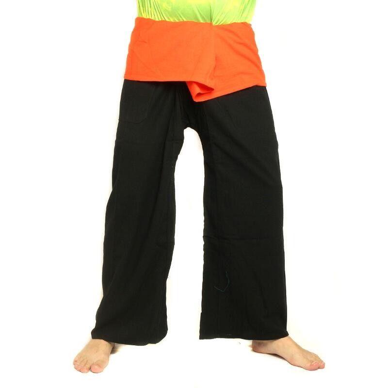 Couleurs Pantalon Deux De Thaïlandais Coton Long1 Pêcheur Cc0x UqSLzVGMjp