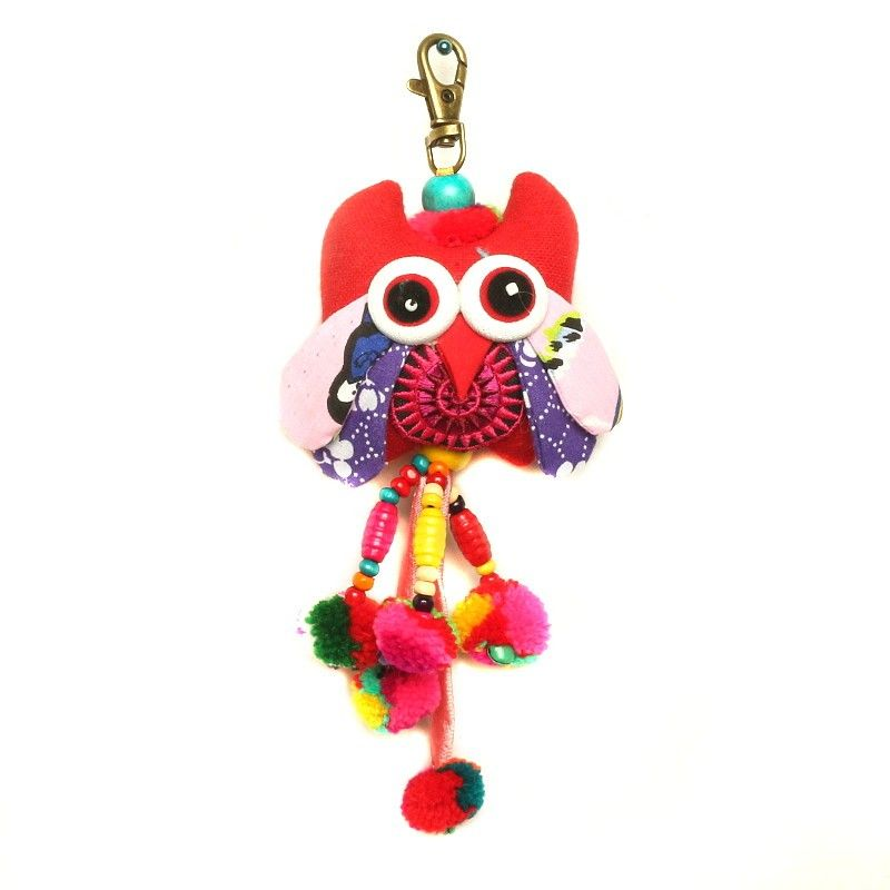 Tote Bag Key Chain Owl