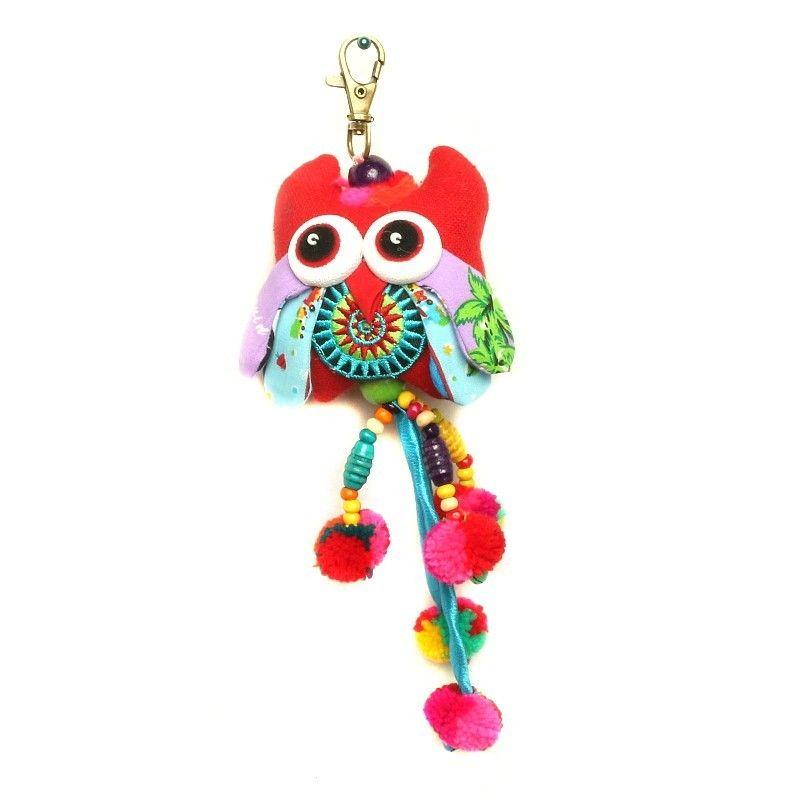 Tote Bag Key Chain Owl