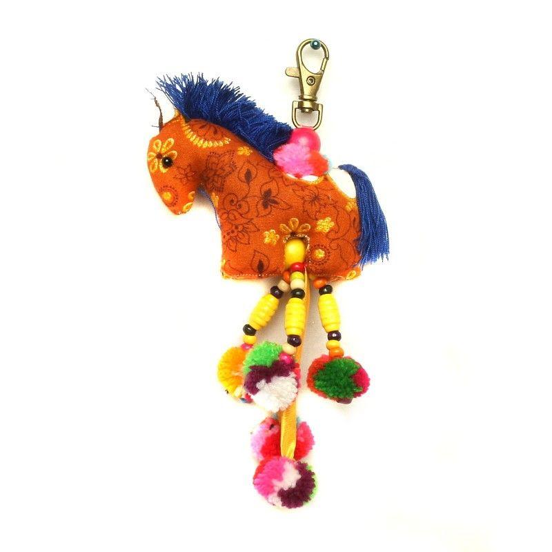 Taschenanhänger Schlüsselanhänger Pferd