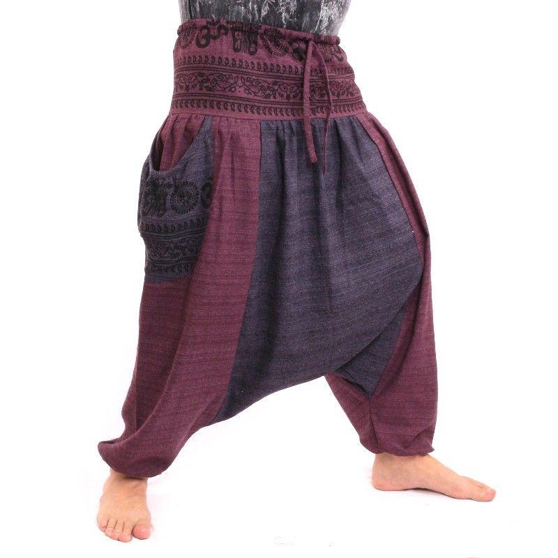 Afghani Hose mit 2 großen Seitentaschen