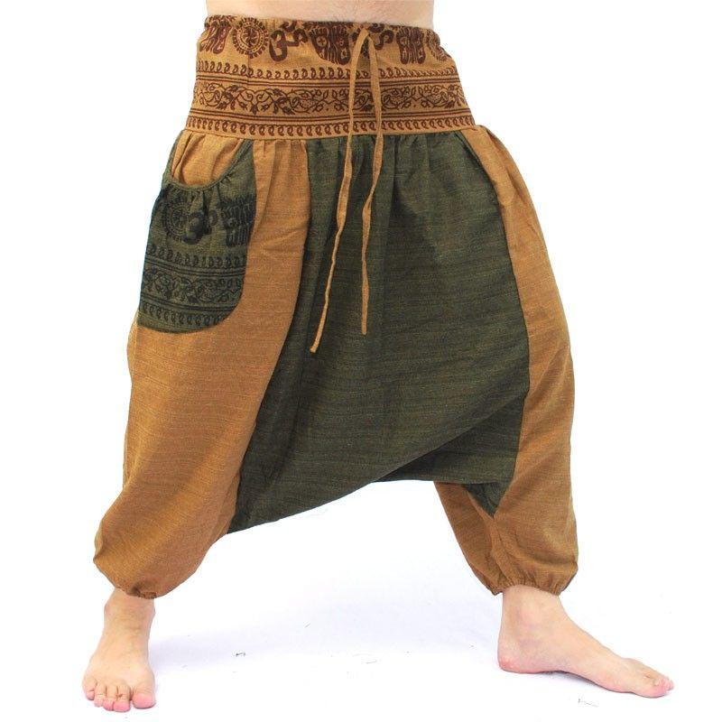 Afghani pants with 2 large side pockets