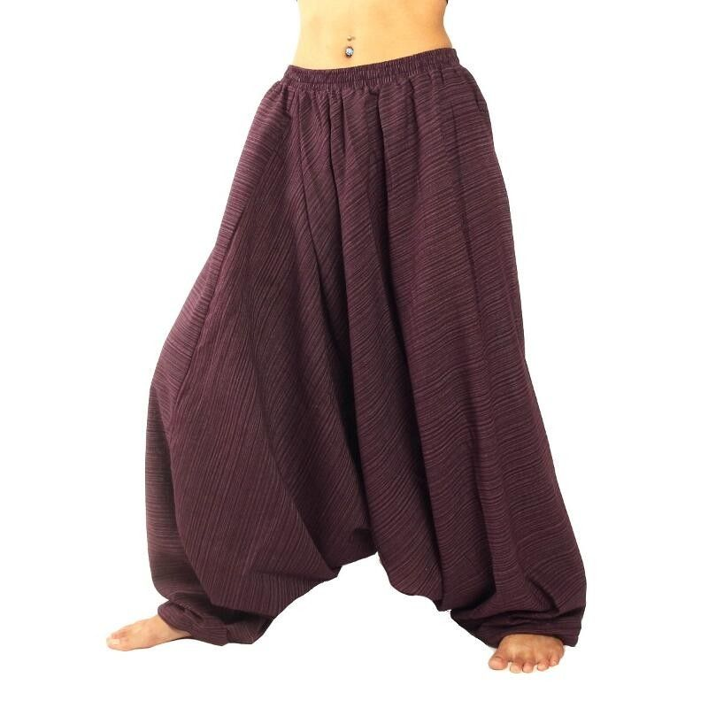Baggy pants Cottonmix - magenta