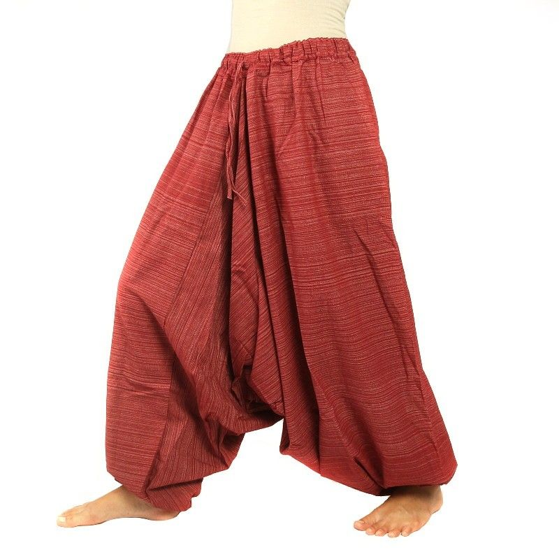 Baggy pants Cottonmix - red