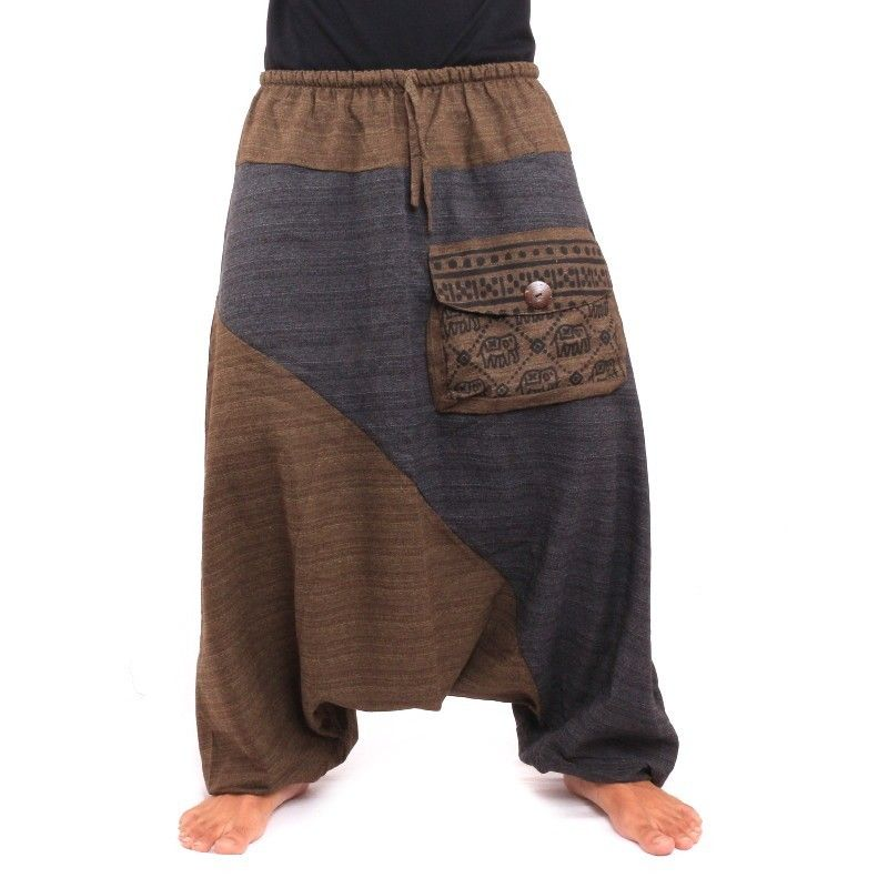 Aladdin pants two-colored