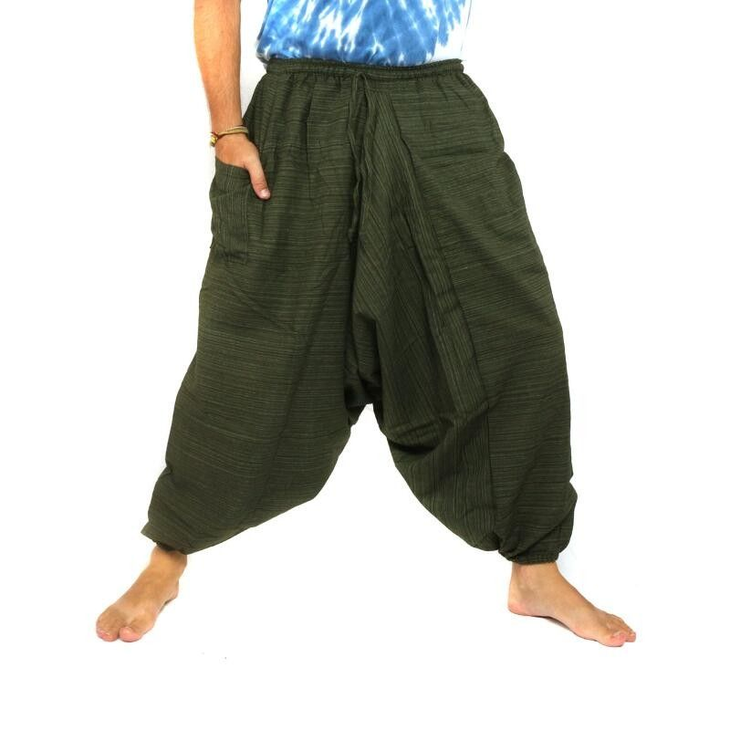 Baggy Pants Baggy pants Cottonmix - green