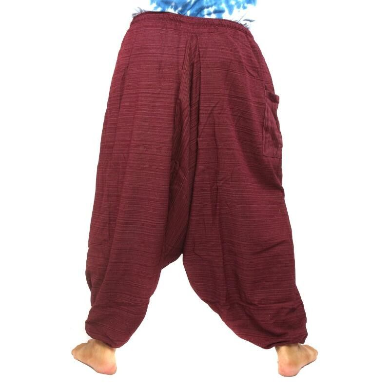 Pantalones De Haren Hombres Rojos A012 A3