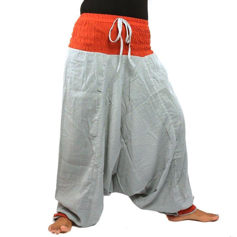 Pantalones Aladdin - rojo gris