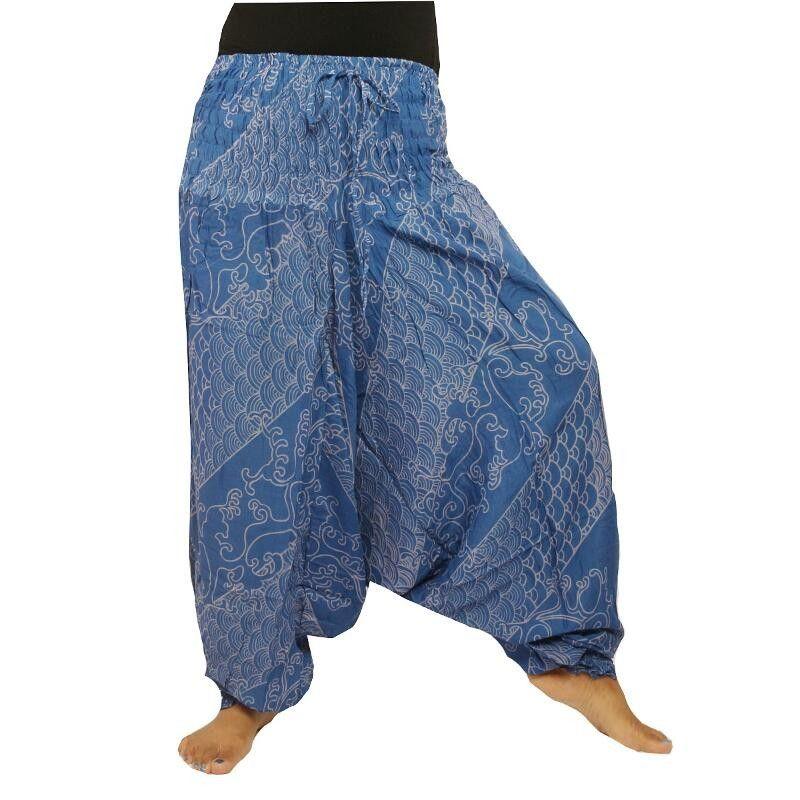 Haremshose Baggy Pants Jumpsuit Viskose