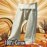 Thai Fisherman pants - uncoloured - cotton