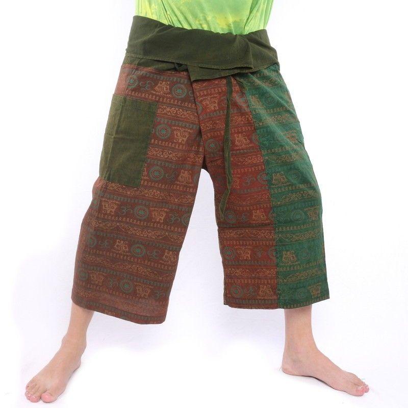 3/5 India Tibet Thai Thai Fisherman Pants