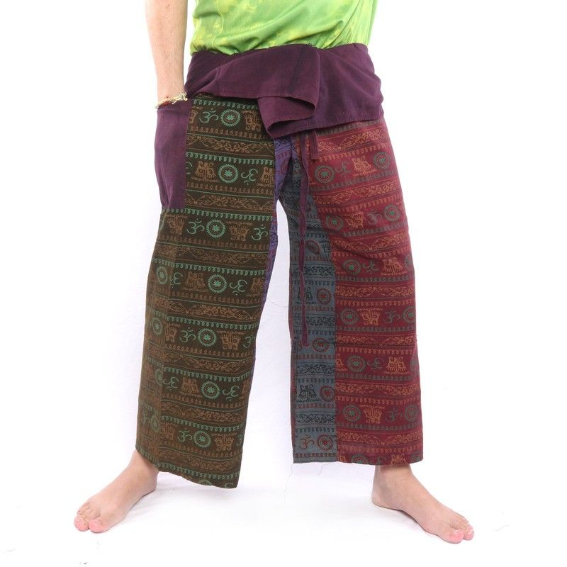 Bhaep India Tibet Style Thai Fisherman Pants