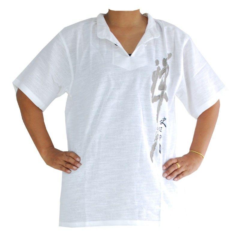 Razia Fashion - Lightweight Thai cotton shirt white Size M