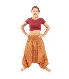 Pantalons de harem thaïlandais