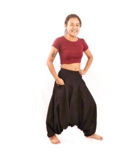 Pantalones de harén tailandeses