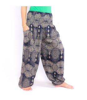 Oriental harem pants