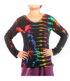 Thai Hemd aus Spandex - Batik