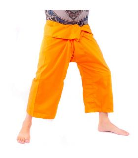 Thai fisherman pants viscose - orange