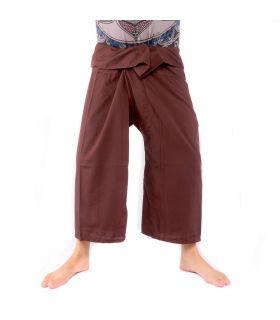 Thai fishing pants - brown