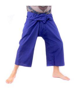 Thai fishing pants - blue