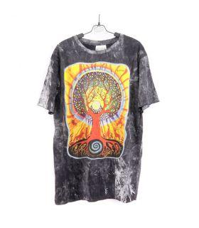 """No Time"" Hippie Ganesha Elefant T-Shirt Größe L"
